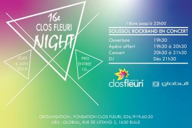 Clos Fleuri Night