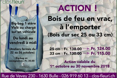 """Action """"Bois de feu"""""""