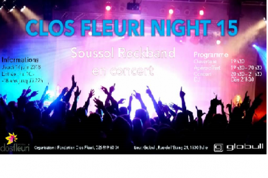 Clos Fleuri Night